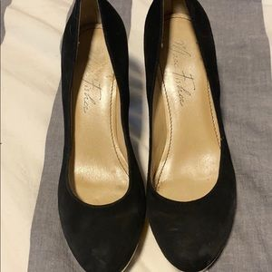 Shoes - Marc fisher heels with gold trim